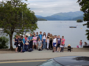 GCSE students at Bowness2