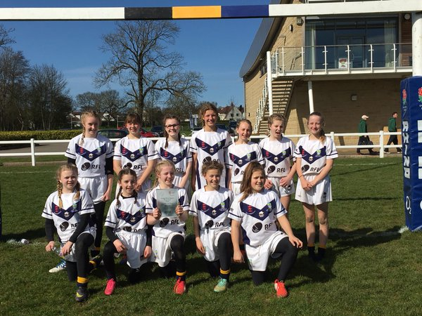 Thumbnail for U13 and U15 girls won the White Rose Rugby Final today and the U12 boy