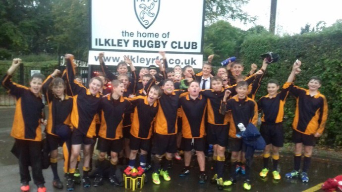 Thumbnail for Year 8 Rugby team finish 2nd tonight. Year 7 rugby team beat Ermysteds