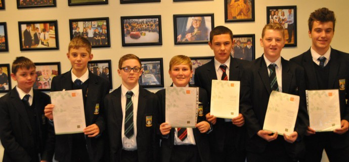Thumbnail for Well done to the Young Rangers who received their certificates in scho