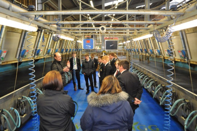 Thumbnail for Thank you to @NewtonRigg for giving our students an excellent tour tod