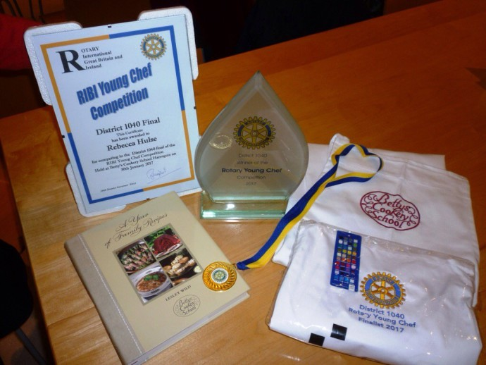 Thumbnail for Congratulations to Rebecca Hulse who won the Rotary District Young Che