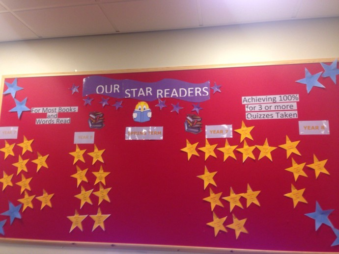 Thumbnail for Accelerated Reader Star Readers. The board is getting fuller! https://