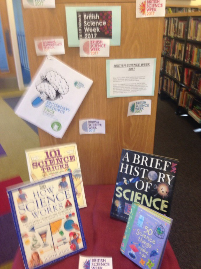 Thumbnail for Our library display for Science Week. https://t.co/mhB7hNbv4j