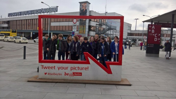Thumbnail for Our Sixth Form students have arrived in Berlin. Have a great trip this